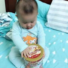 Bé uống sữa diamond nutrient kid