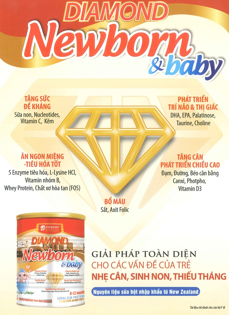 sữa diamond newborn & baby