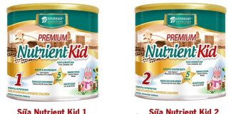 Sữa Nutrient Kid 1 và Sữa Nutrient Kid 2