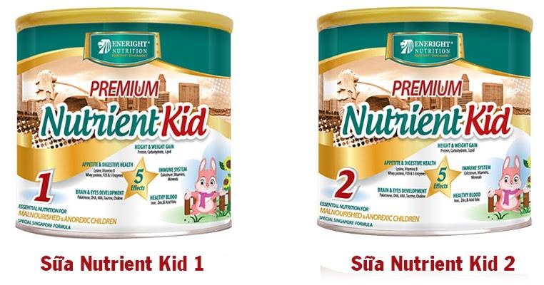 Hỏi đáp về sản phẩm sữa Nutrient Kid2