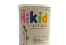 Sữa Hikid giúp bé tăng chiều cao vượt trội từ Hàn Quốc