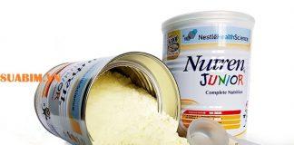 Sữa Nutren Junior Thụy Sĩ 800g