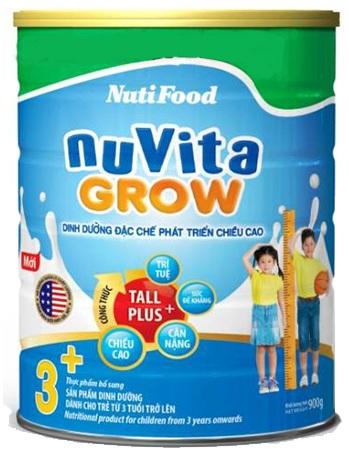 sữa nuvita grow 900g