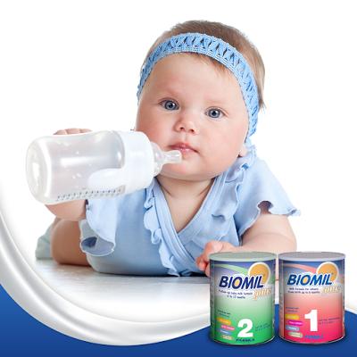 sữa biomil sữa sinh học của bỉ sữa tăng cân tốt cho bé dưới 1 tuổi