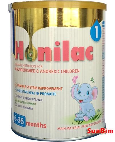 sữa honilac đặc trị tăng cân ở trẻ sơ sinh