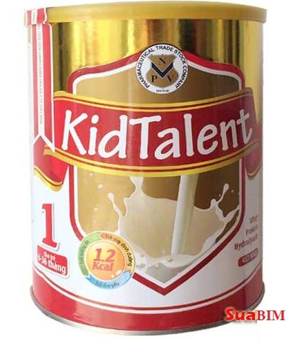 Sữa KidTalent giải pháp dinh dưỡng vàng cho trẻ sơ sinh và trẻ nhỏ