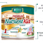 Sữa nutrient kid phù hợp với bé dưới 1 tuổi cần tăng cân