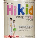 Sữa Hikid nhập khẩu nguyên lon từ Hàn Quốc