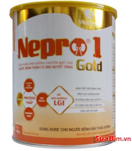 Sữa Nepro 1 Gold dinh dưỡng cho người suy thận và tiểu đường