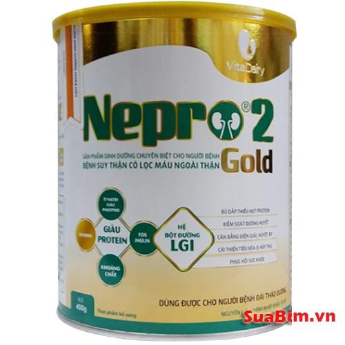 Sữa Nepro 2 gold dinh dưỡng cho người chạy thận và nguy cơ bị tiểu đường