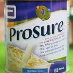 Sữa Prosure dinh dưỡng cho người bệnh ung thư