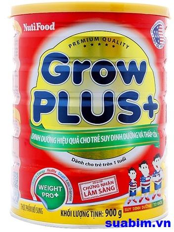 Sữa Nuti grow plus đỏ 900g