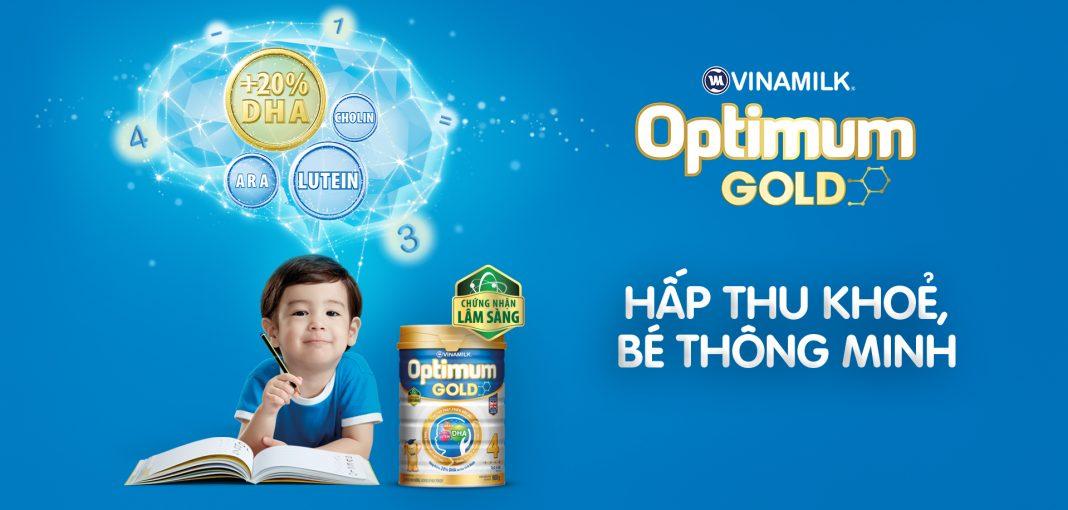 Sữa Optimum Gold 4 giúp bé phát triển trí não hiệu quả