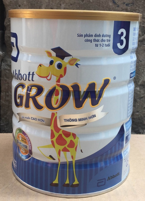 Sữa abbott grow 3 900g