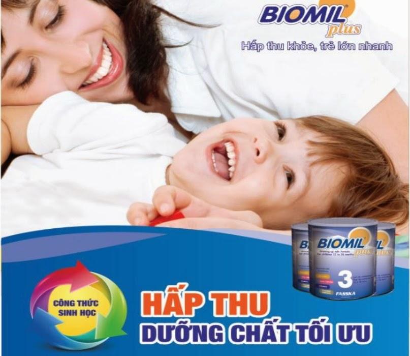 sữa biomil món quà từ thiên nhiên giúp bé phát triển toàn diện