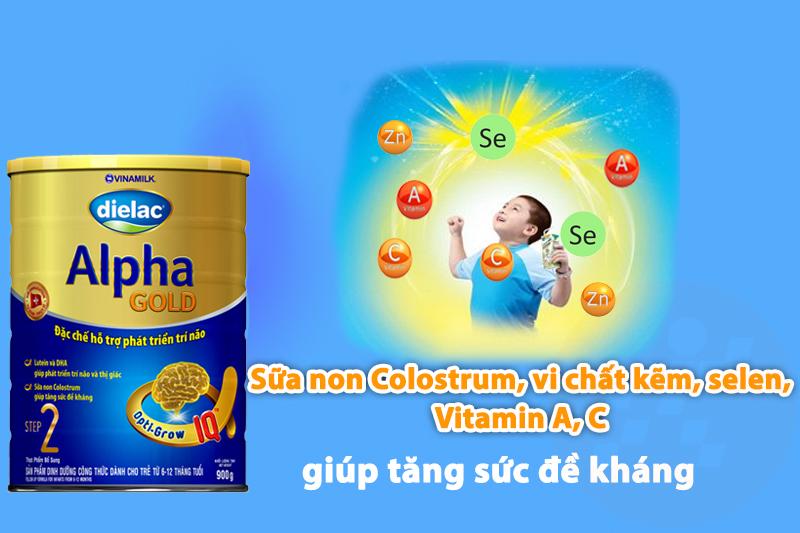 sữa dielac alpha gold step 3