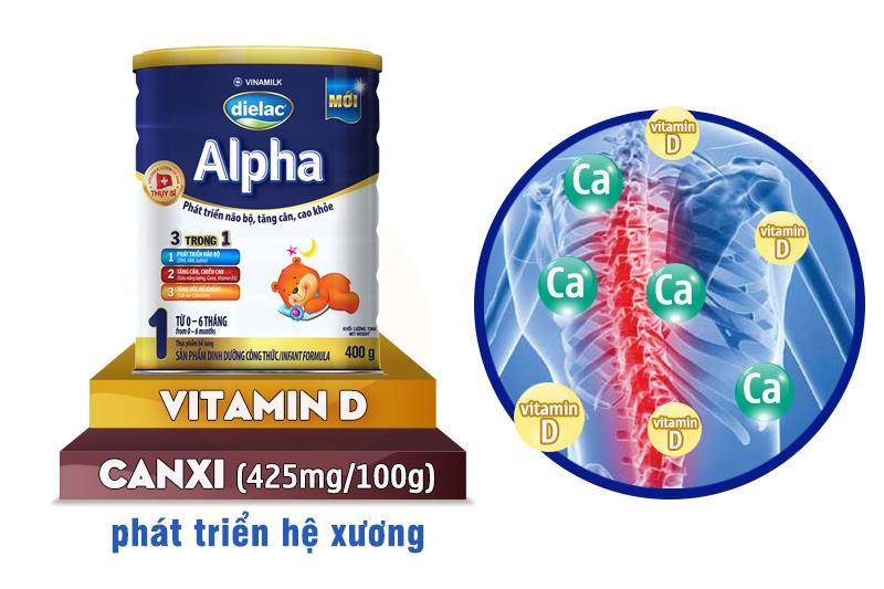 sữa dielac alpha giúp tăng trưởng chiều cao tối ưu