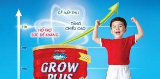 sữa grow plus của vinamilk có tốt không