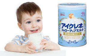 Sữa cho bé chậm tăng cân