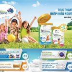 Sữa green meadows giúp bé phát triển toàn diện