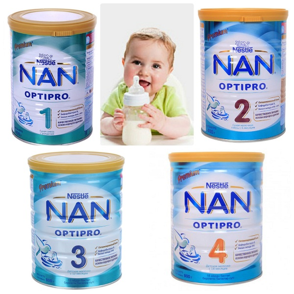 Các Loại Sữa Nan Nga