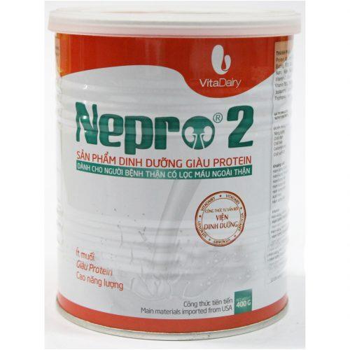 Sữa Nepro 2 dành cho người chạy thận
