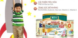 Sữa nutrient kid dành cho bé suy dinh dưỡng