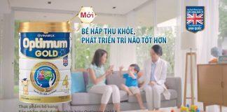 sữa optimum gold có tăng cân không