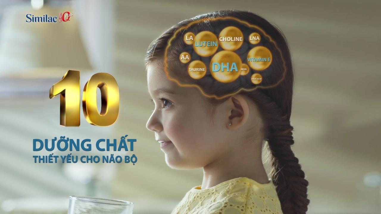 Sữa similac giúp bé phát triển não bộ