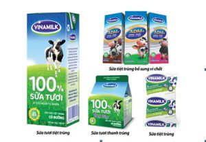 Sữa tươi chứa nhiều protein