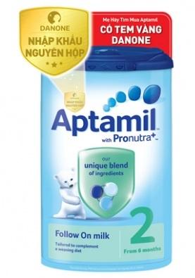 Sữa aptamil anh số 2 giống sữa mẹ, gúp bé phát triển toàn diện