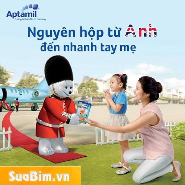 Sữa aptamil có tốt không, Sữa aptamil có tăng cân không