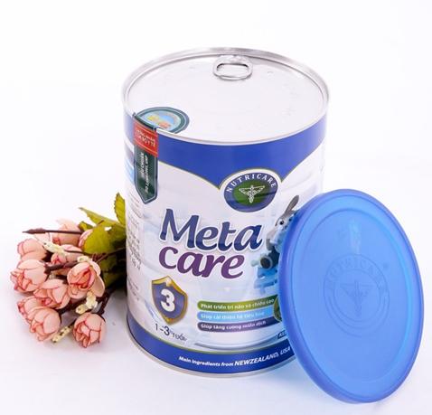 Sữa Meta care 3 900g