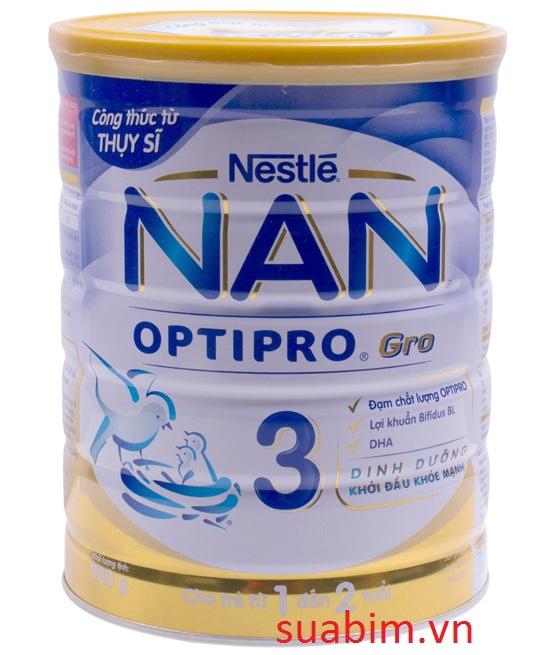 Sữa nan optipro 3 việt nam dành cho bé 1-3 tuổi