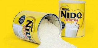 Sữa nido nắp trắng