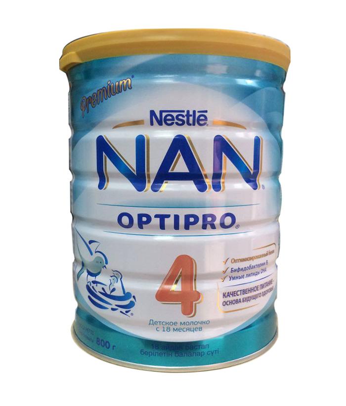 Sữa NAN Nga số 4 cho trẻ từ 18-24 tháng