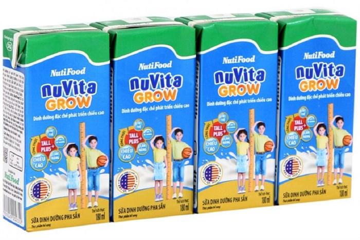 Sữa nước Nuvita Grow 3+ tiện sử dụng