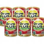 Sữa Nuti grow plus đỏ đặc chế cho trẻ suy dinh dưỡng, thấp còi