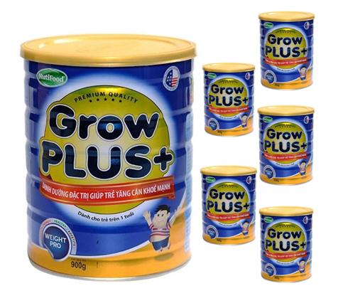 Sữa Nutifood grow plus xanh tăng cân cho trẻ khỏe mạnh