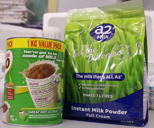 Sữa Milo Úc + Sữa A2 công thức sữa tăng chiều cao tốt nhất cho tuổi
