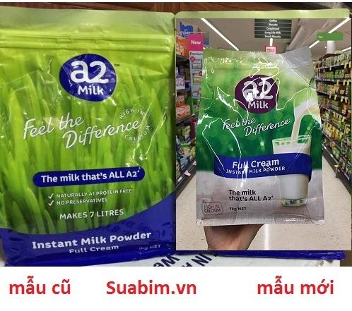 Sữa A2 của úc mẫu mới
