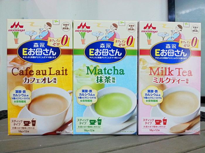 sữa bầu morinaga mẫu mới