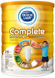 Sữa bột Dutch Lady Complete