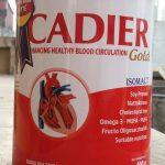 sữa cadier gold dinh dưỡng bổ sung hoàn hảo cho người già chống lại các nguy cơ tim mạch và tiểu đường