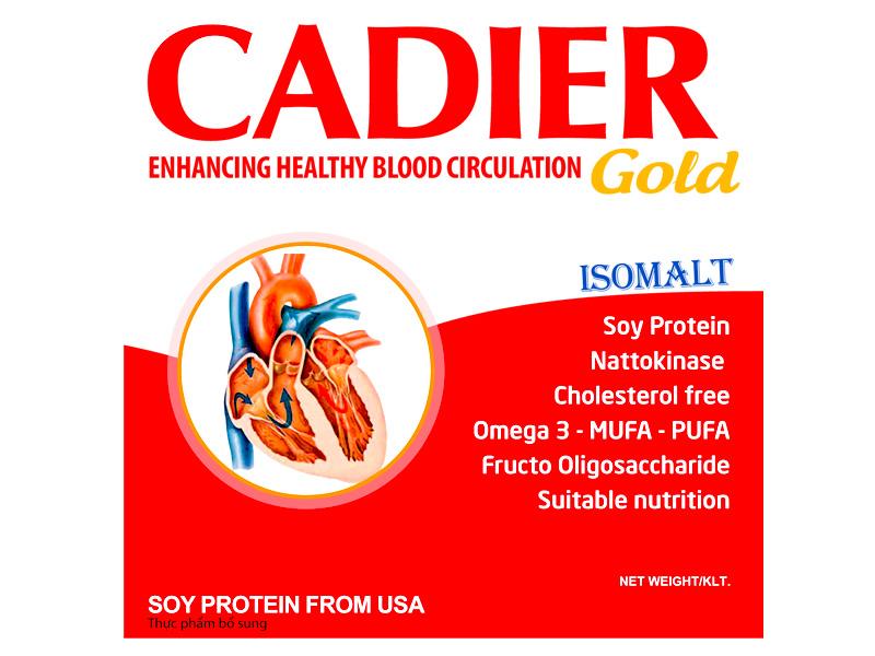 Sữa Cadier gold 400g