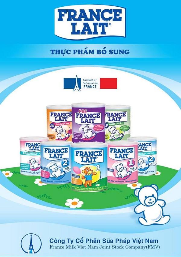 Sữa France lait nhập khẩu nguyên lon từ pháp