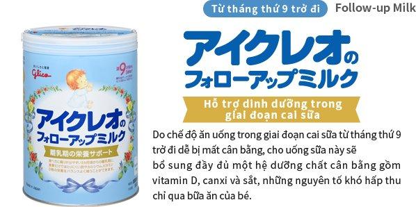 Sữa glico số 9 cho bé từ 9 tháng đến 3 tuổi