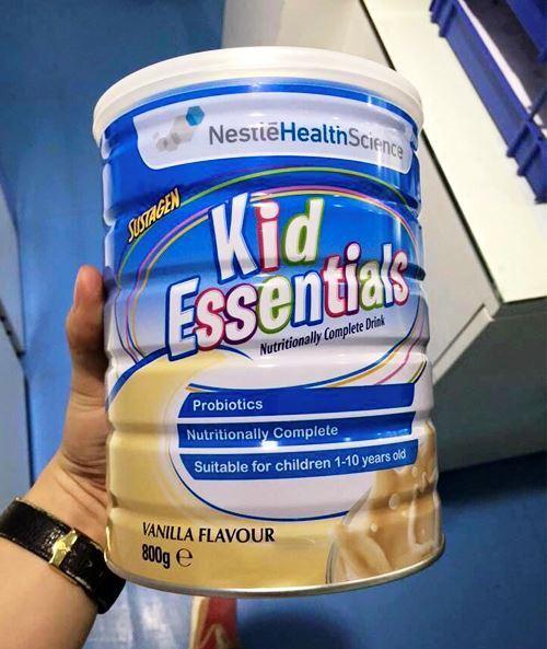 Sữa kid essentials của hãng Nestle