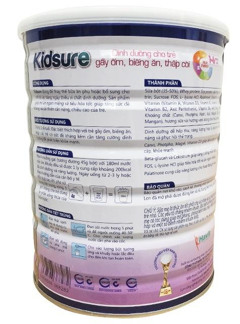 Sữa Kidsure chất lượng cho bé