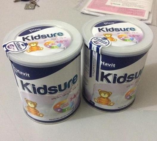 Sữa Kidsure giúp bé phát triển toàn diện